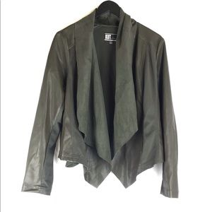 Kut From The Kloth Waterfall Faux Leather Jacket